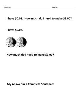 Make $1.00 Mega 100+ Worksheets