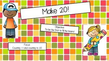 Make 20!:  Adding to 20