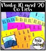 Make 10 Go Fish and Make 20 Go Fish- Math Games