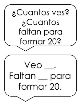 Make 20 on the Rekenrek in English and Spanish
