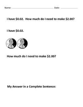 Make $2.00 Mega 100+ Worksheets