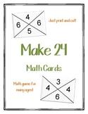 Make 24 Make Game