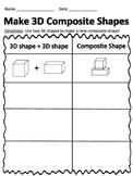 Make 3D Composite shapes