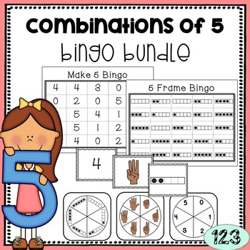 Combinations of 5 BINGO Games