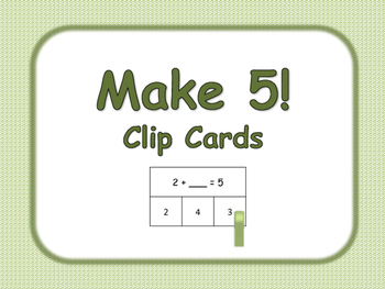 Make 5 Clip Cards
