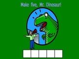 Make 5 Dinosaur - Building 5 (Structuring Number)