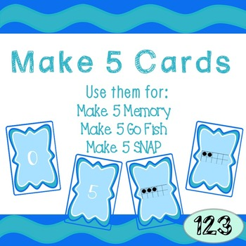 5 Frame Cards - Instructions for 3 Games