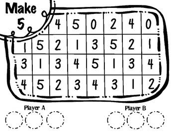 Make 5 Structuring Game