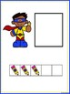 Make 5 Superheros Booklet And Number Match