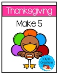 Make 5 - Thanksgiving