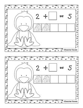 Make 5 with Penguins Addition Booklet
