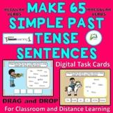 Make 65  Simple Past Tense Sentences for ESL EAL  ELL & Na