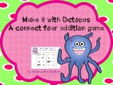 Make 8 With Octopus - Addition 4 In A Row