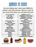 Make A BBQ Life Skills Activity