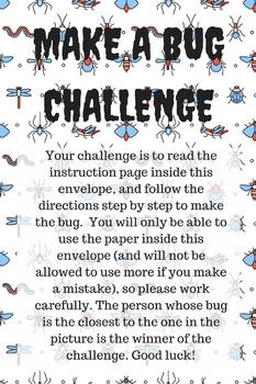 Make A Bug Challenge