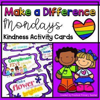 Kindness Activity Cards {FREEBIE}
