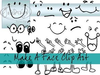 Make A Face Clip Art
