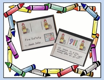 Make A Fire Safety Picture Strip with Captions