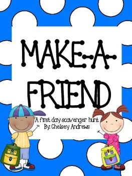 Make-A-Friend Scavenger Hunt