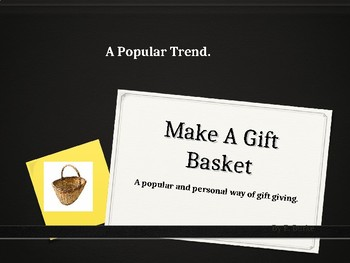 Make A Gift Basket