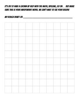 Make A Map Project - No prep necessary