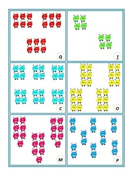 Make A Match: An Introduction to Multiplication with Equal Groups Activity