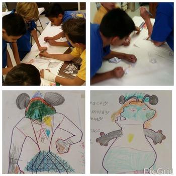 Make A Monster! Fun Spanish Class Activity