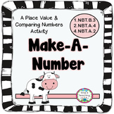 Make A Number - Place Value & Comparing Numbers Activity