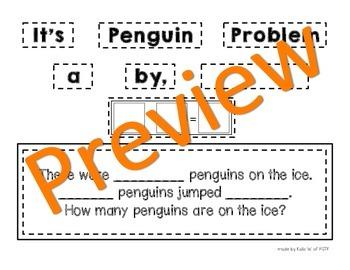 Make A Penguin Word Problem Craftivity Printable
