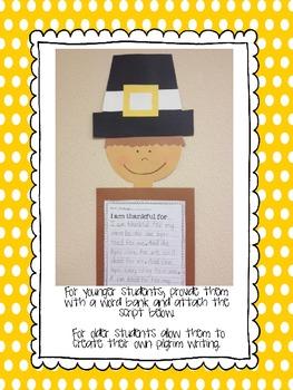 Make A Pilgrim {Craftivity, activities and more!}