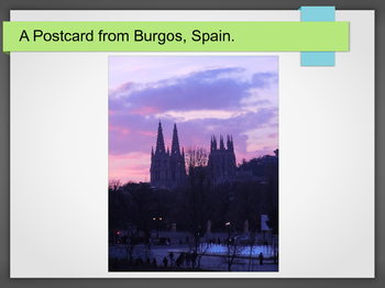 Make A Postcard: ESL Lesson Plan