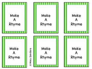 Make A Rhyme