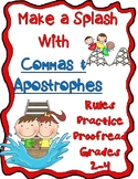 Make A Splash with Commas and Apostrophes Gr. 2-4