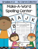 Make-A-Word Spelling Center