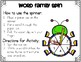 Make A Word Spinner Activity