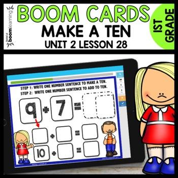Make A ten BOOM CARDS [Module 2 Lesson 28]