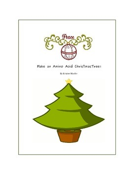 Make an Amino Acid Christmas Tree