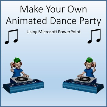 Make An Animated Dance Party for Teaching Microsoft PowerPoint Skills