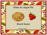 Apple Pie Board Game Preschool, Kindergarten, Autism, Special Education Games