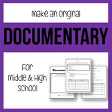 Make An Original Documentary - Project-Based Learning