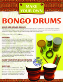 Latin American Instruments - Make And Play Bongo Drums