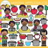 Make Applesauce Clip Art