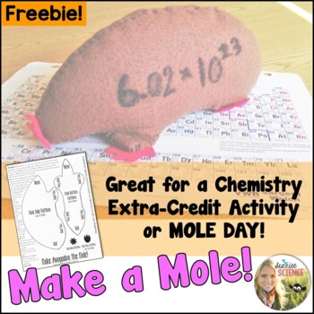 Mole Day or Chemistry Extra Credit : Make Avogadro the Mole