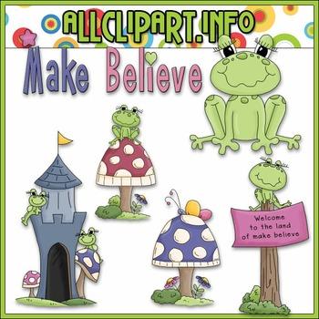 Make Believe Clip Art - Alice Smith Clip Art