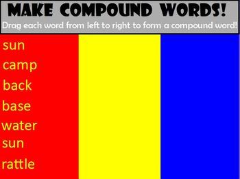 Make Compound Words