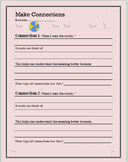 Make Connections Assessment (Text to World, Text to Text, Text to Self)