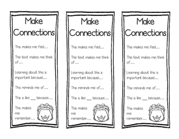 Make Connections Bookmark