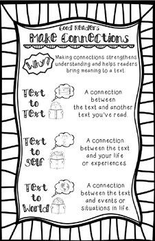 Make Connections Reading Strategy Anchor Chart