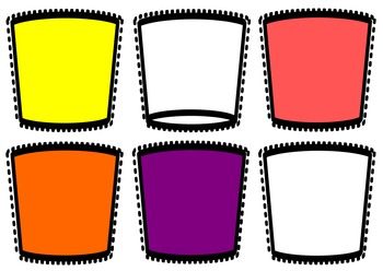 Make Drinks - Pretend Play Printable