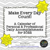 Make Every Day Count: A Mini-Calendar for 2019 {FREE}
